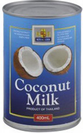Royal Line Coconut Milk 400mL-Chef's Choice-Fresh Connection