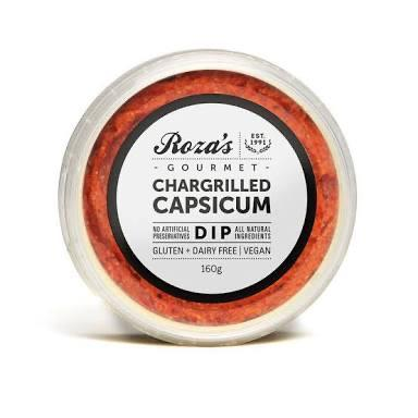 ROZA'S Capsicum Dip 160g-Groceries-Roza's-Fresh Connection