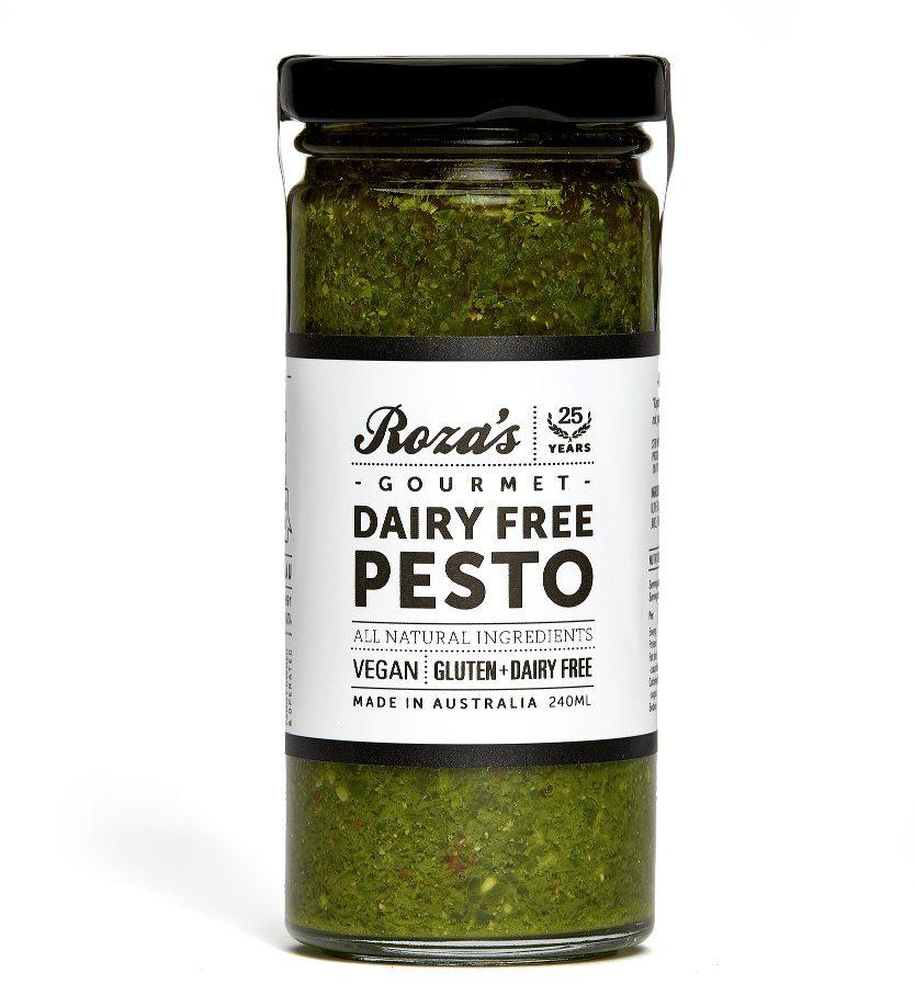 ROZA'S Dairy Free Pesto 240ml-Groceries-Roza's-Fresh Connection