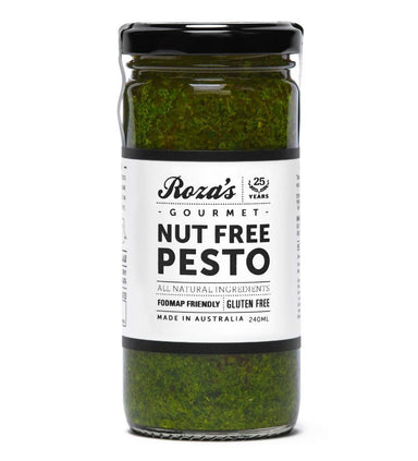 ROZA'S Nut Free Pesto 240g-Groceries-Roza's-Fresh Connection