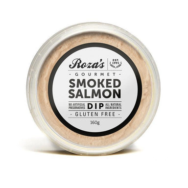 ROZA'S Smoked Salmon Dip 160g-Groceries-Roza's-Fresh Connection