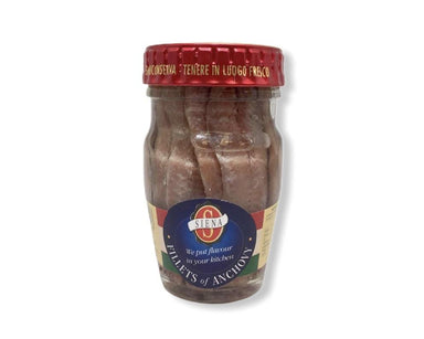 Siena Anchovy Fillets in Oil 80g-Groceries-Siena-Fresh Connection