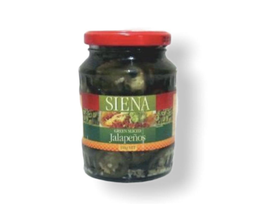 Siena Sliced Jalapeno 350g-Groceries-Siena-Fresh Connection