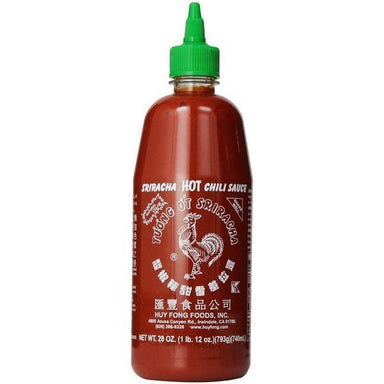 Sriracha Hot Chilli Sauce 793g-Sriracha-Fresh Connection