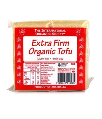 The International Organics Society Extra Firm Organic Tofu - 360g-Fresh Connection-Fresh Connection