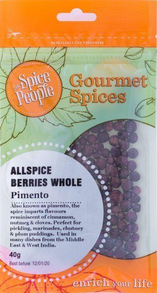 The Spice People Allspice Berries Whole 40g-The Spice People-Fresh Connection