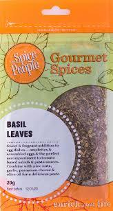 The Spice People Basil Leaves 20g-The Spice People-Fresh Connection