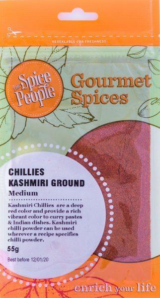 The Spice People Chillies Kashmiri Ground 55g-The Spice People-Fresh Connection