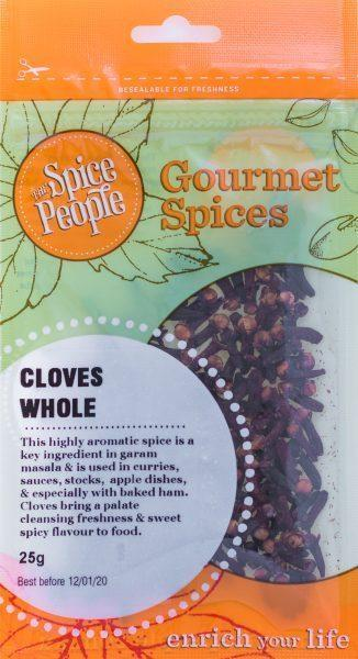 The Spice People Cloves Whole 25g-The Spice People-Fresh Connection