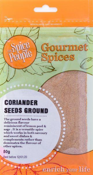 The Spice People Coriander Seeds Ground 55g-The Spice People-Fresh Connection