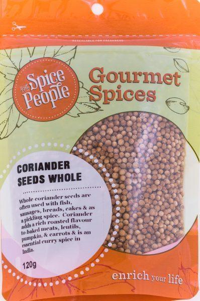 The Spice People Coriander Seeds Whole 35g-The Spice People-Fresh Connection