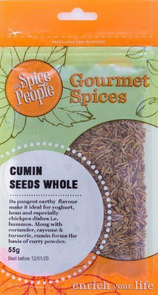 The Spice People Cumin Seeds Whole 55g-The Spice People-Fresh Connection