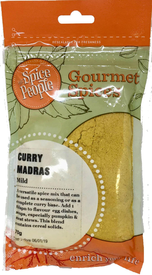 The Spice People Curry Madras Mild 65g-The Spice People-Fresh Connection