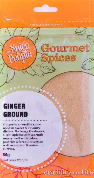 The Spice People Ginger Ground 55g-The Spice People-Fresh Connection