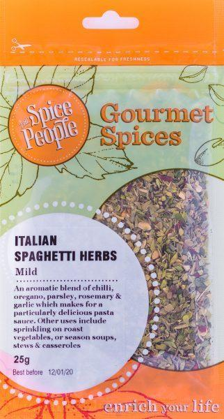 The Spice People Italian Spaghetti Herbs 25g-The Spice People-Fresh Connection