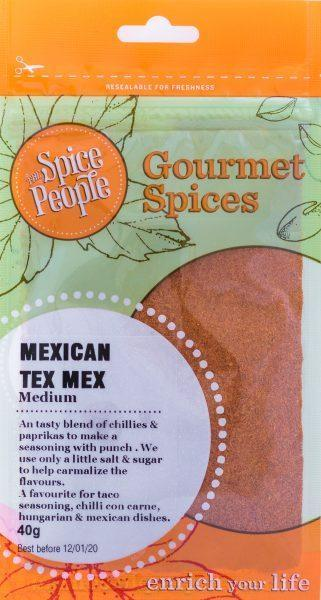 The Spice People Mexican Tex Mex 40g-The Spice People-Fresh Connection