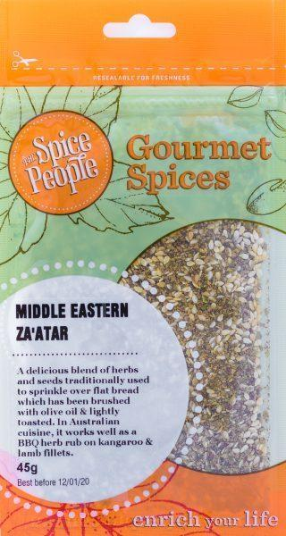 The Spice People Middle Eastern Za'atar 45g-The Spice People-Fresh Connection