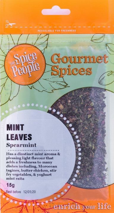 The Spice People Mint(spearmint) Leaves 15g-Groceries-The Spice People-Fresh Connection