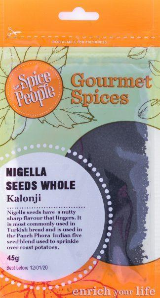 The Spice People Nigella Seeds Whole 45g-The Spice People-Fresh Connection