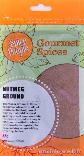 The Spice People Nutmeg Ground 35g-The Spice People-Fresh Connection