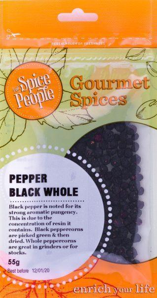 The Spice People Pepper Black Whole 55g-The Spice People-Fresh Connection