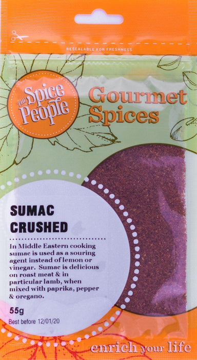 The Spice People Sumac Crushed 55g-The Spice People-Fresh Connection