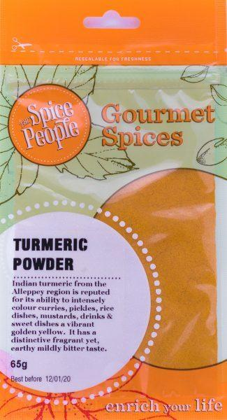 The Spice People Turmeric Powder 65g-The Spice People-Fresh Connection