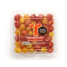 TOMBERRIES - WORLD'S SMALLEST TOMATOES - 125g-Fresh Connection-Fresh Connection