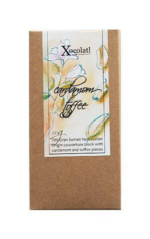 Xocolatl Cardamon Toffee Block - 110g-Xocolatl-Fresh Connection