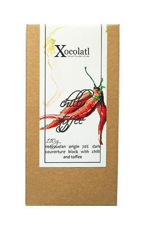 Xocolatl Chilli Toffee Block, Dark - 110g-Xocolatl-Fresh Connection