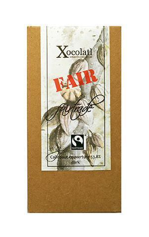Xocolatl Fair Trade Block, Dark - 100g-Xocolatl-Fresh Connection