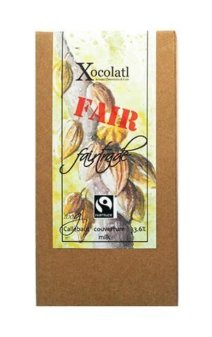 Xocolatl Fair Trade Milk 100g-Groceries-Xocolatl-Fresh Connection