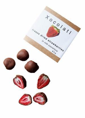 Xocolatl Freeze Dried Strawberries 80g-Xocolatl-Fresh Connection