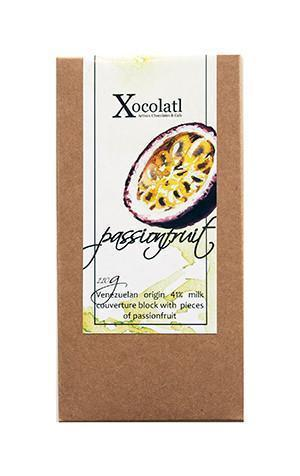 Xocolatl Passionfruit Passionfruit Block, Milk - 110g-Xocolatl-Fresh Connection