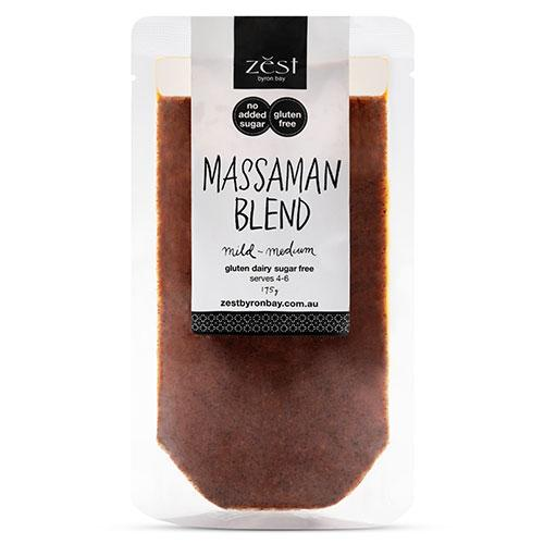 Zest Byron Bay Massaman Blend 175g-Groceries-Zest Byron Bay-Fresh Connection