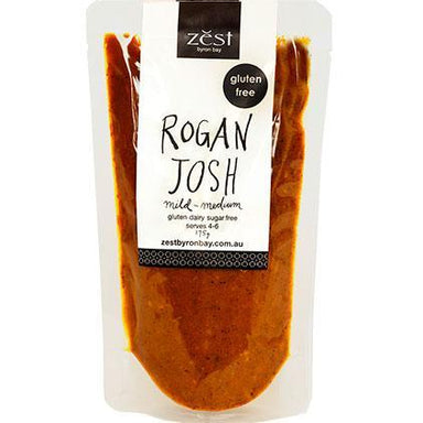 Zest Byron Bay Rogan Josh Base 175g-Zest Byron Bay-Fresh Connection