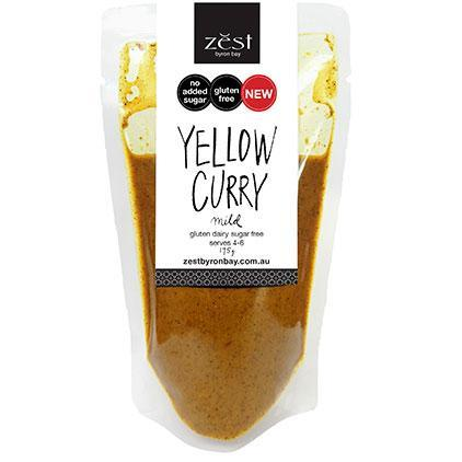 Zest Byron Bay Yellow Curry 175g-Zest Byron Bay-Fresh Connection