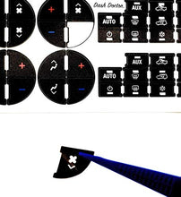 AC Button Repair Decal Kit 2007-2014 GM Chevrolet GMC Cadillac Buick