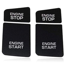 AUDI A6/C6 Black Stop Start Button Repair Decal