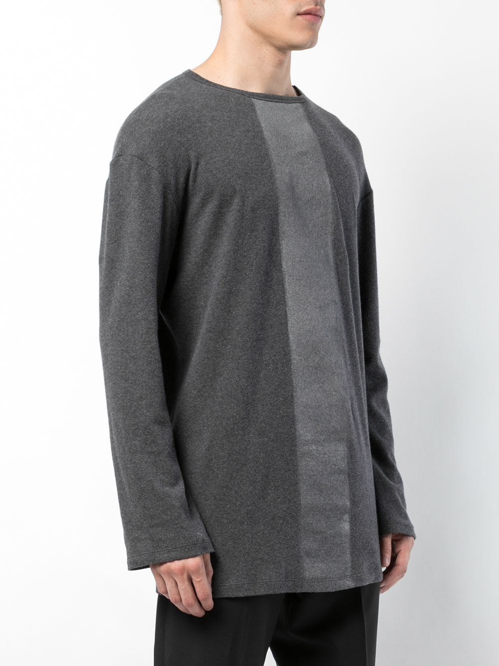 Grey Long Sleeve Flannel
