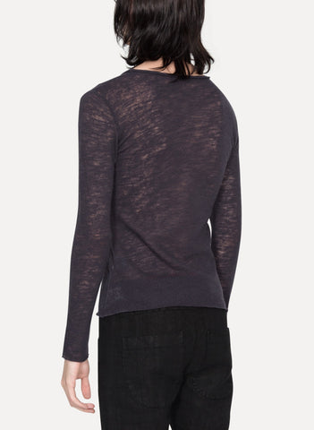 Wool Long Sleeve T-Shirt