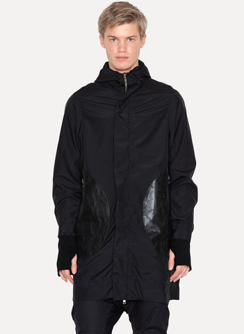 Polyester Silk Rain Coat