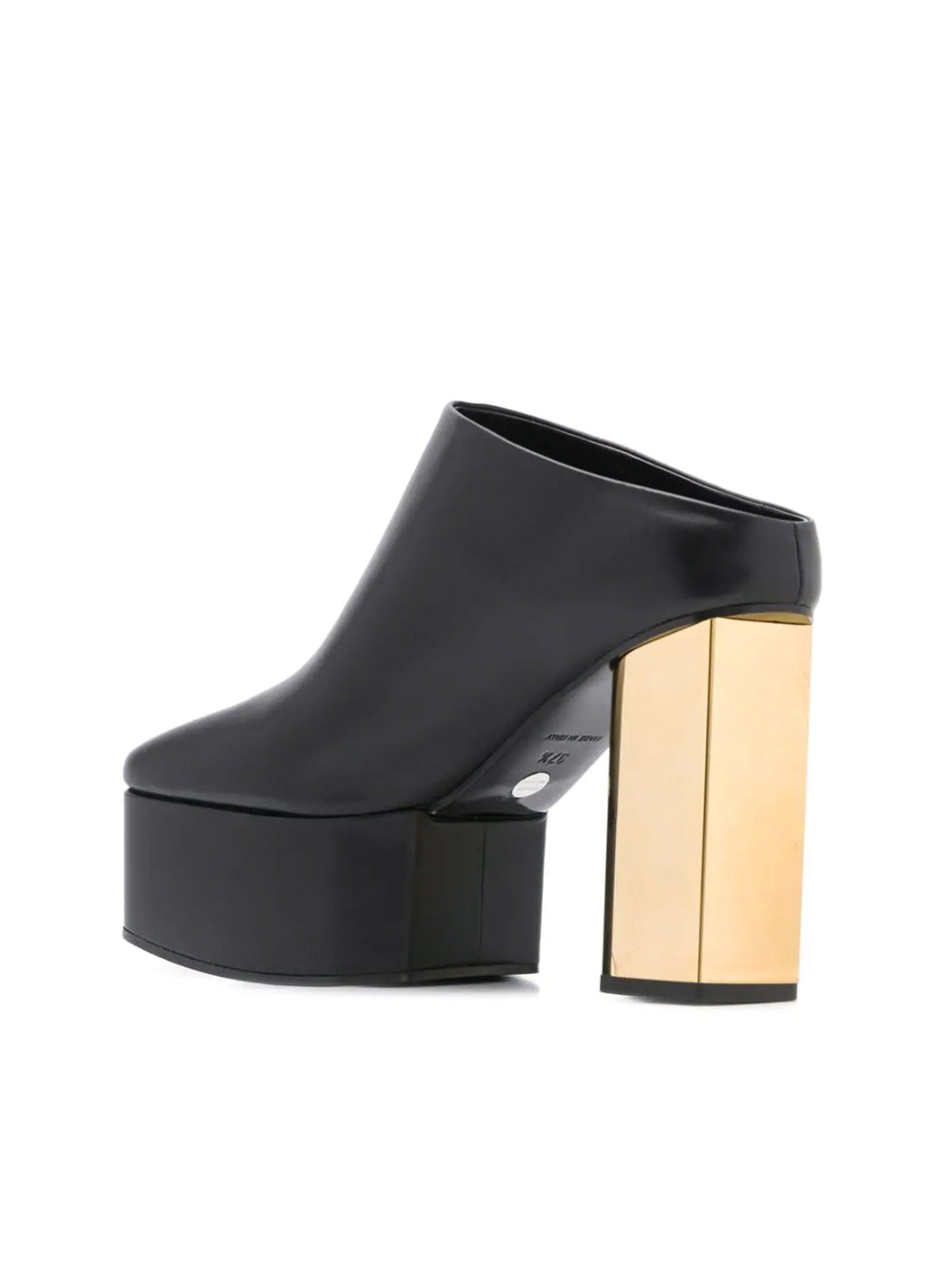 Structured Heeled Mules