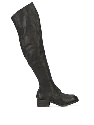 Women's PL4 Baby Calf Over Knee Zip Boots