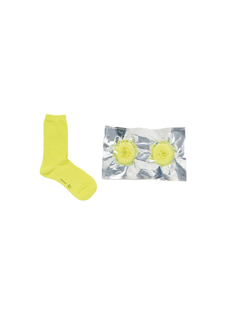 Yellow Safe Socks