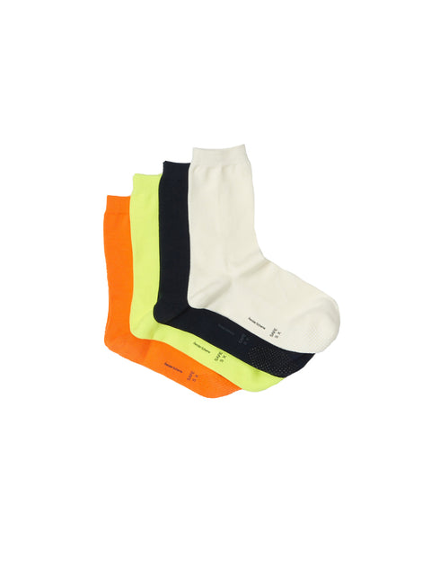 White Safe Socks