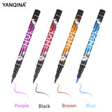 YANQINA 36H 4 Colors Eyeliner Pencil Waterproof Professional