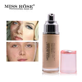 MISS ROSE Natural Foundation Moisturizing