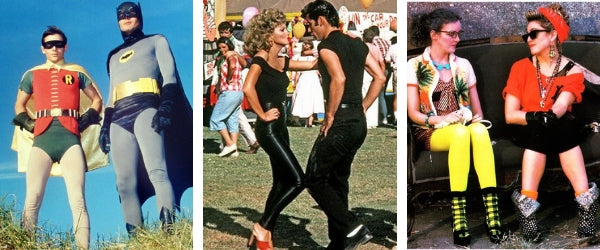Batman and Robin, Olivia Newton John, Madonna - The History of Leggings in Film and TV