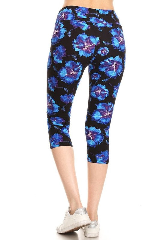 Midnight on the Island - Women's One Size Capris